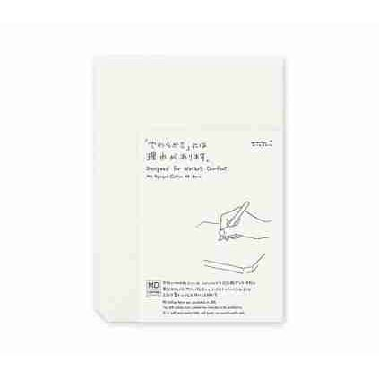 MD Paper Pad A5 Cotton Blank