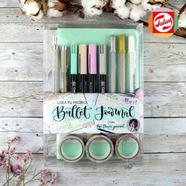 SET BULLET JOURNAL MINT