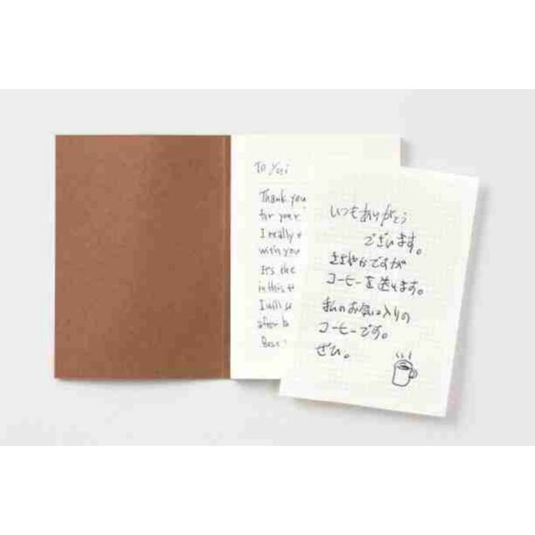 Traveler's notebook Passport Size Refill  Letter Paper