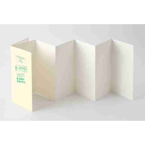 Traveler's notebook Refill Accordion Fold Paper